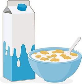 花生牛奶廣告背景