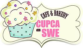 卡通手繪風格插畫甜品店圖標素材