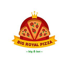 披薩店標志