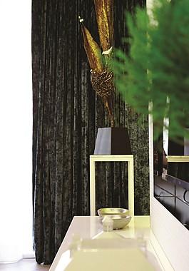 現代簡約室內擺件窗簾設計圖