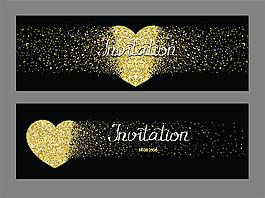 金色心形VIP卡圖片