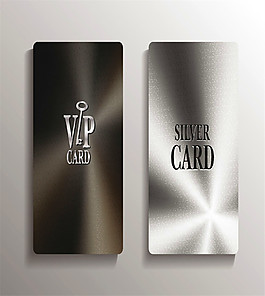 金屬光澤VIP卡圖片