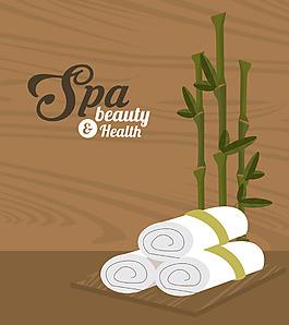 美容SPA毛巾