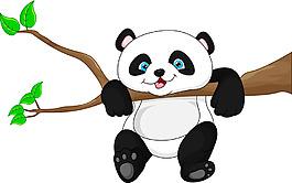 調皮的熊貓