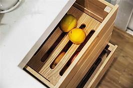 現代簡約廚房柜子抽屜設計圖