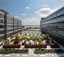 現代時尚小區花園設計圖
