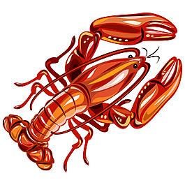 火紅的小龍蝦