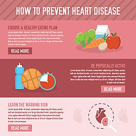 預防心臟病圖文背景
