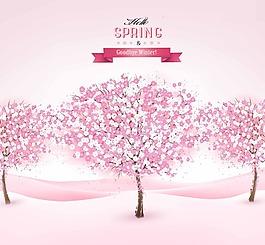粉色浪漫櫻花