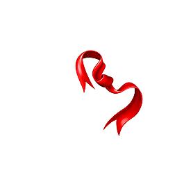 紅色絲帶紅綢