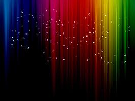 彩虹豎條背景
