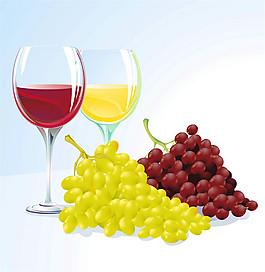 卡通葡萄酒圖片