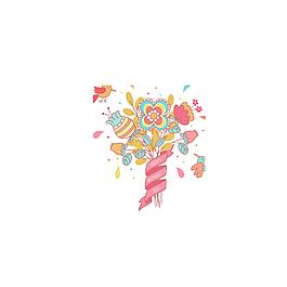 粉色花朵浪漫