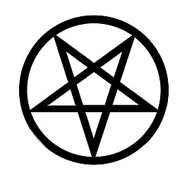 逆五芒星 撒旦標志