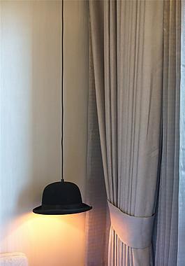 現代臥室吊燈圖片