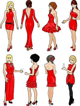 穿裙子的美女圖片