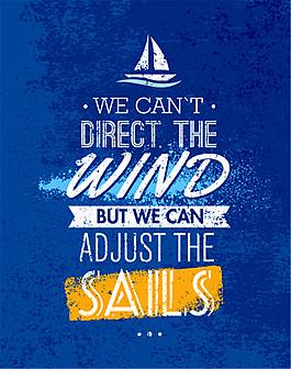 帆船英文名言圖片