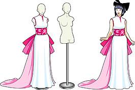 服裝模特漫畫圖片
