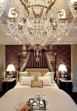 奢華別墅臥室裝修效果圖