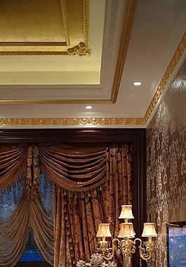 豪華臥室沙發落地燈設計圖