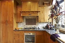 廚房實木柜子設計圖