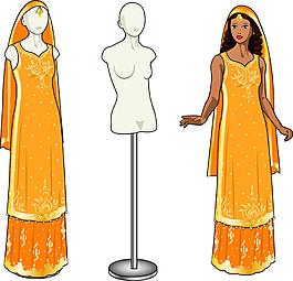 印度美女漫畫圖片