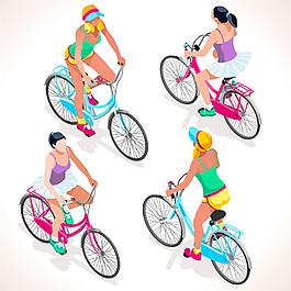 性感單車美女圖片