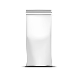 長方形咖啡包裝袋圖片