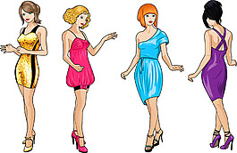 性感卡通美女漫畫圖片