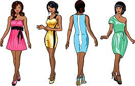 性感卡通美女漫画图片1