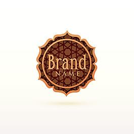 阿拉伯裝飾花紋標志