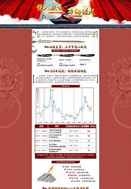 股票白銀專題頁PSD源文件