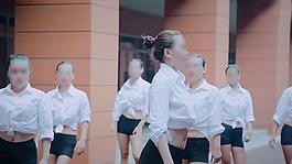 《單色舞蹈》舞蹈人物視頻素材1