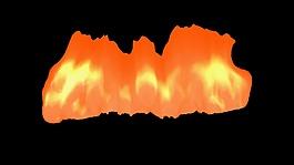 特效合成火焰視頻