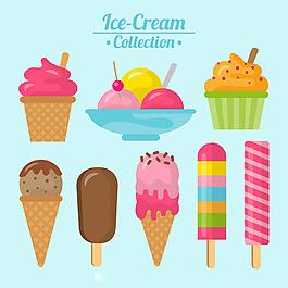 各種美味冰淇淋系列圖標