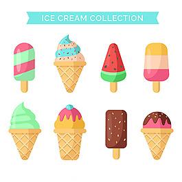 美味的冰淇淋系列圖標