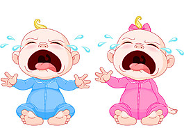 愛哭嬰兒圖片