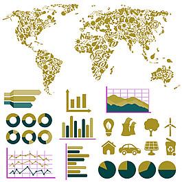 環保信息圖標圖片