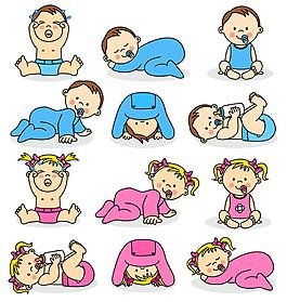 奶嘴嬰兒圖片