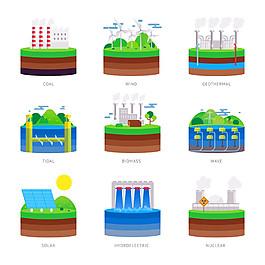 生態環保工廠漫畫圖片
