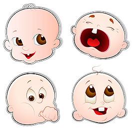 嬰兒表情圖片