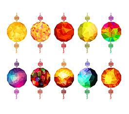 中國結燈籠圖片