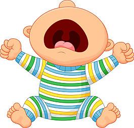 坐地上嬰兒圖片