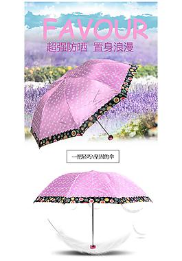 雨傘詳情頁
