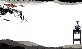 中國風水墨畫背景