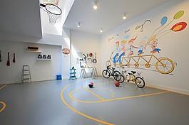 歐式室內可愛背景墻設計圖