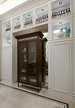 歐式室內背景墻設計圖