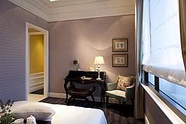 歐式臥室沙發背景墻設計圖