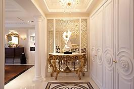 時尚室內桌子吊燈設計圖