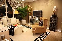 時尚客廳沙發設計圖